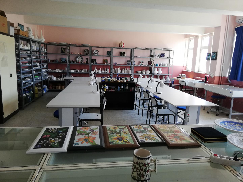 İZNİK MYO Çini Sanatı ve Tasarımı Programına 20 Öğrenci Alınacak