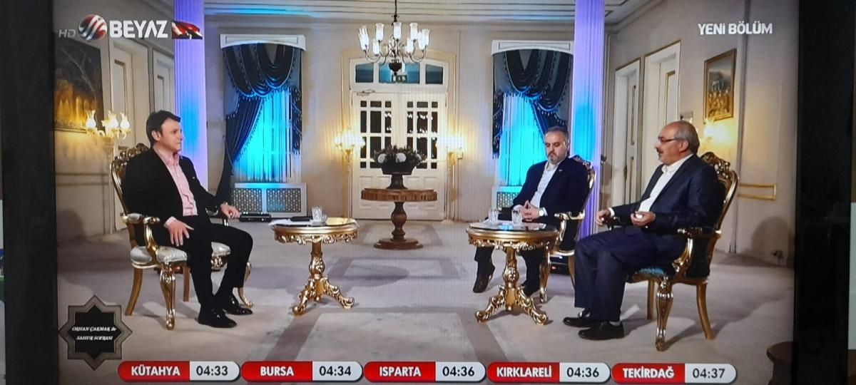 YÜKSEKOKUL MÜDÜRÜMÜZ BEYAZ TV'DE