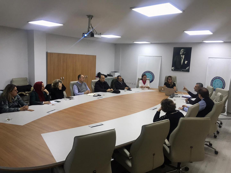 Ölçme ve Değerlendirme Komisyonu Aralık Ayı Toplantısını Gerçekleştirdi.