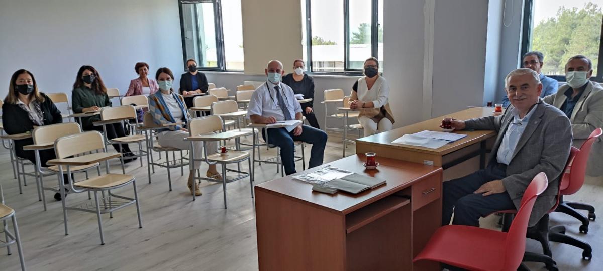 Eğitim Bilimleri Enstitü yöneticileri ile Anabilimdalı toplantısı