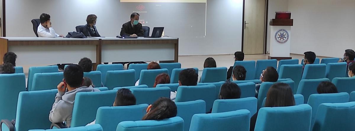 Bölüm Yönetimi-Öğrenci Toplantısı Yapıldı