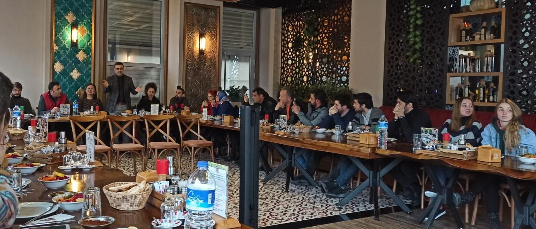Öğrencilerimizle Yarıyılsonu Öğle Yemeği Buluşması