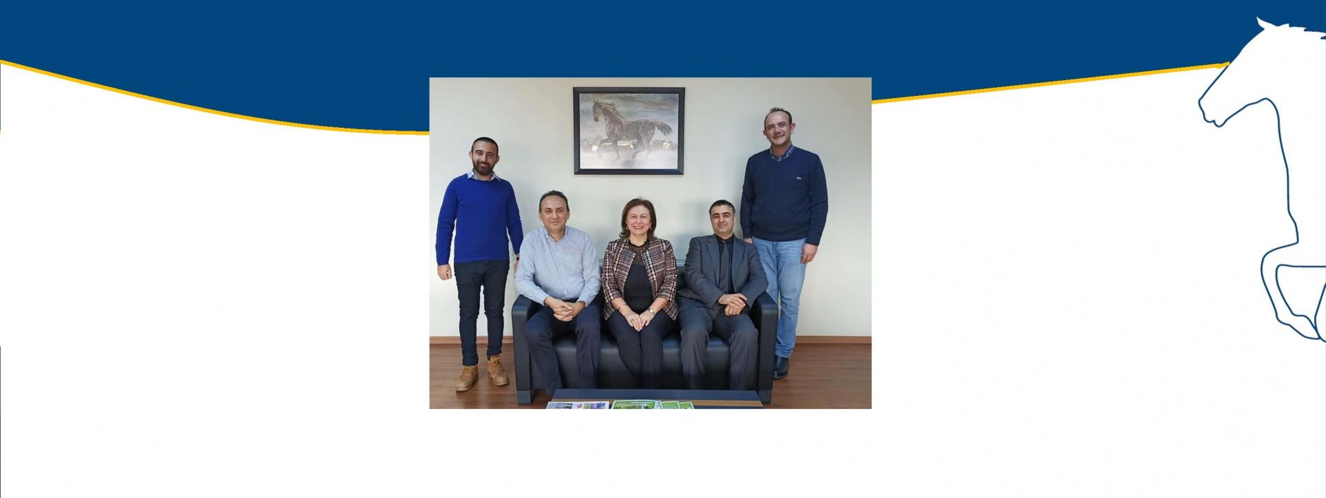 TJK Bursa Osmangazi Hipodrom Müdürü Devrim Evcim'i ziyaret ettik
