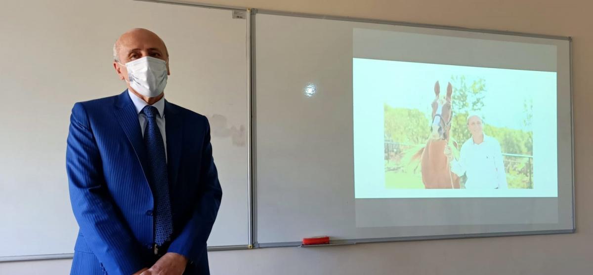 Prof. Dr. Kamil DİLEK Hocamız ile açılış dersimiz
