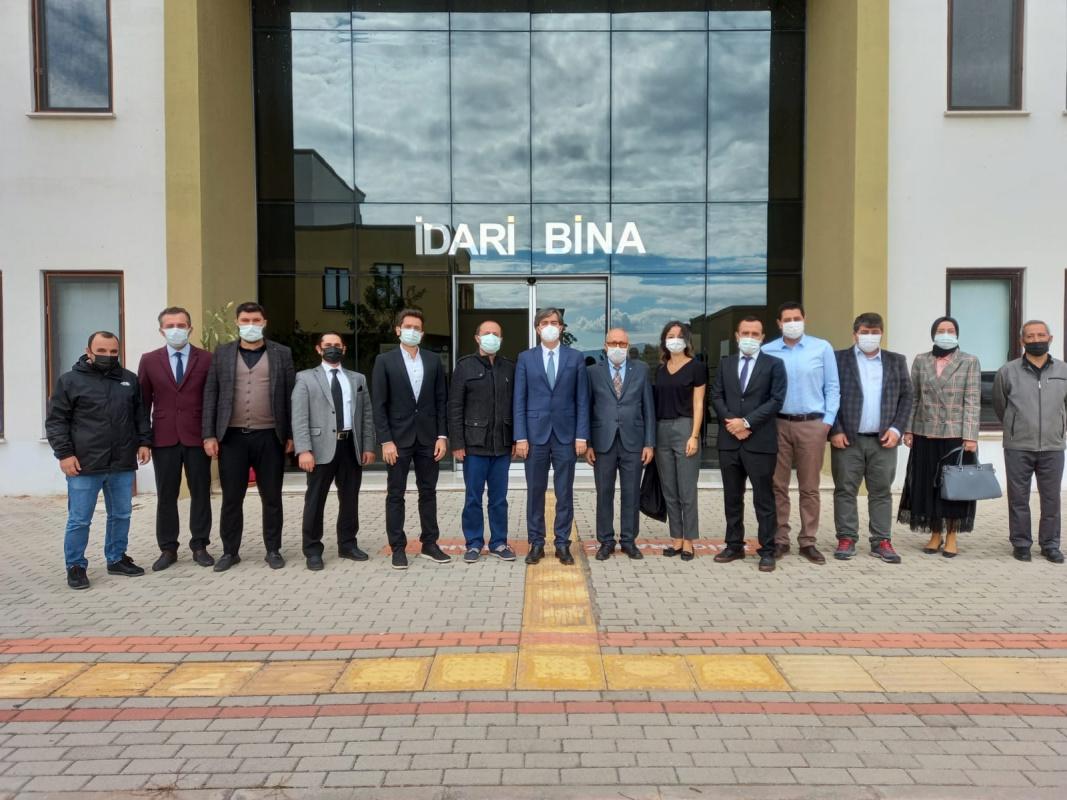 """Orhangazi Asil Çelik MYO'da BEBKA desteğiyle """"Engelsiz Tarım Projesi"""""""