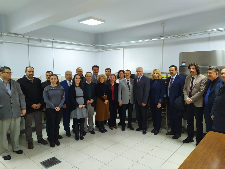 Rektör Prof. Dr. Ahmet Saim KILAVUZ'un Yüksekokulumuz'a Ziyareti