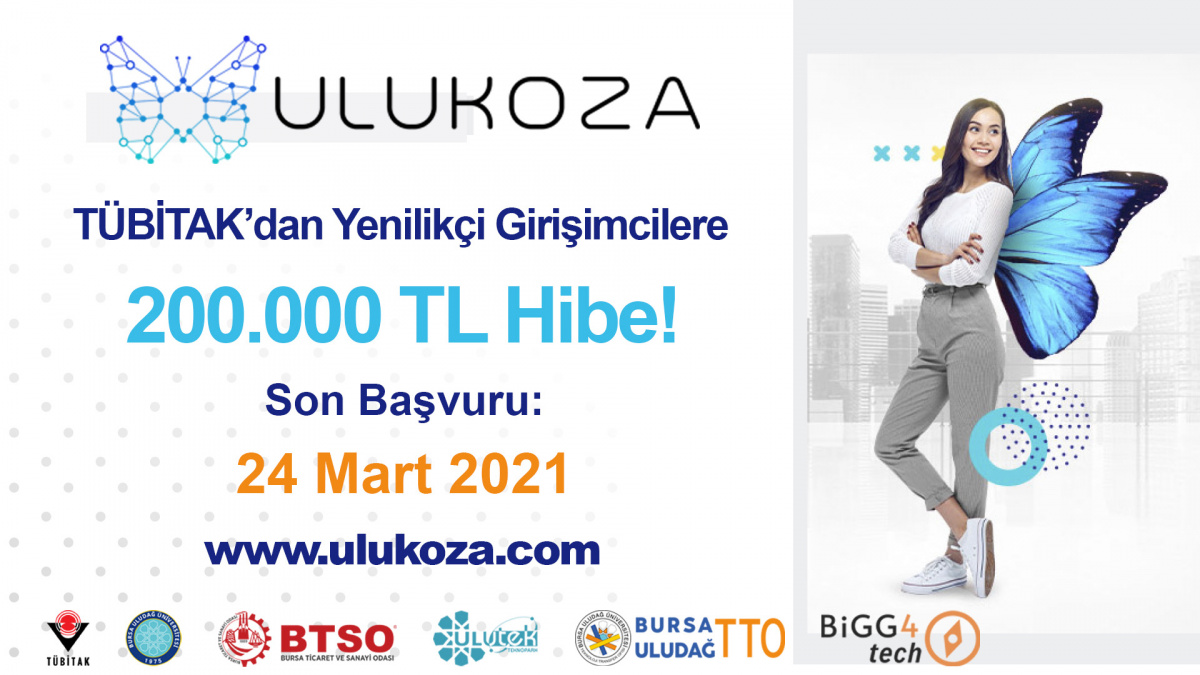 BiGG4tech ULUKOZA 2020-2. Çağrı başvuruları açıldı