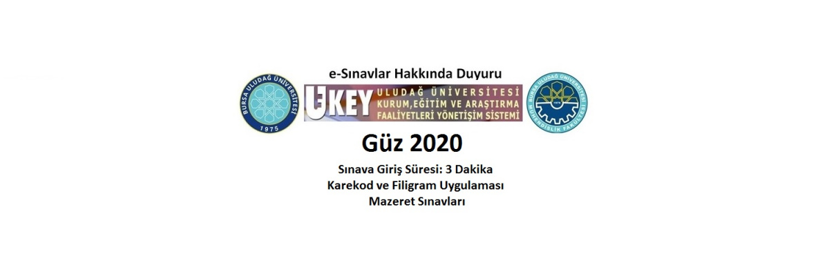 GÜZ 2020 ARA SINAVLARI