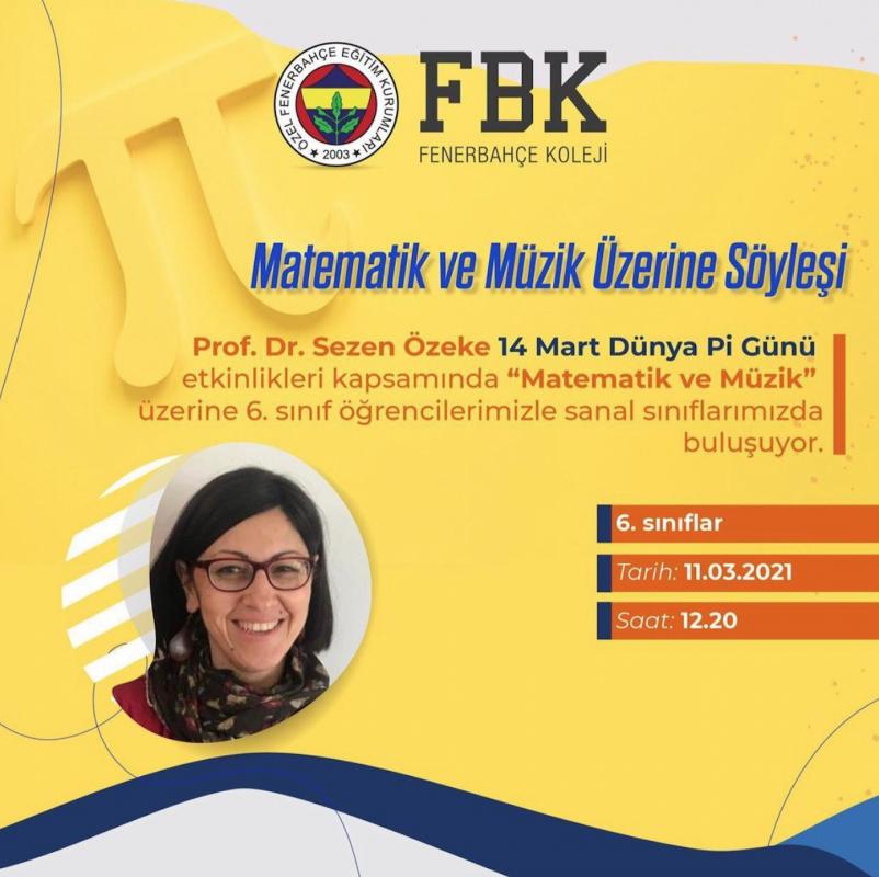Matematik ve Müzik Üzerine Söyleşi - Prof. Dr. Sezen ÖZEKE