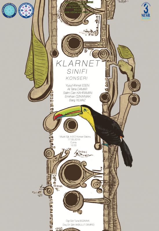 Klarnet Sınıfı Konseri 17 Mayıs 2019