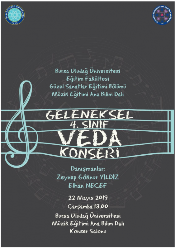 Geleneksel 4. Sınıf Veda Konseri 22 Mayıs 2019