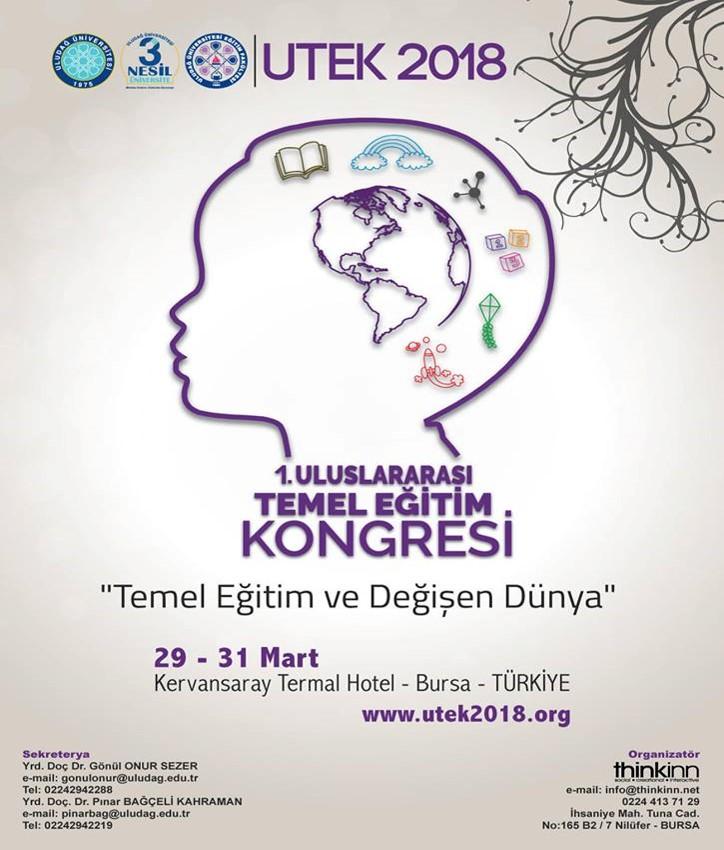 I. ULUSLARARASI TEMEL EĞİTİM KONGRESİ (UTEK)