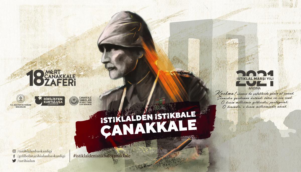 18 Mart Çanakkale Zaferi'nin 106. Yıldönümü...