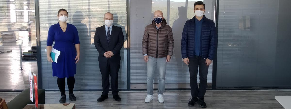 Meslek Yüksekokulu Yönetimimiz Bebüş Tekstil'i Ziyaret Etti...