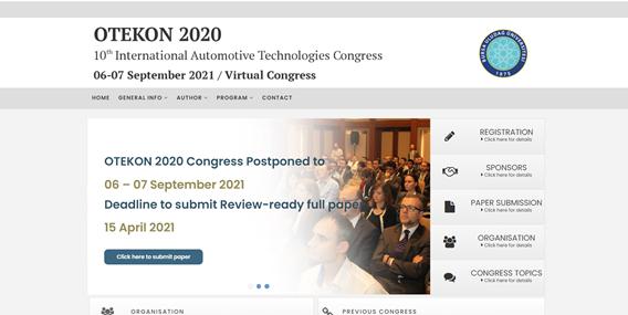 OTEKON 2020 Kongresi 06-07 Eylül 2021 de Bursa' da yapılacaktır
