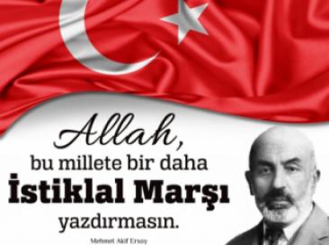 12 MART 1921 -  2021 İSTİKLAL MARŞININ KABULÜ
