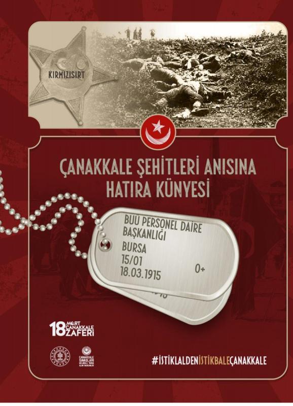 18 MART 1915 -  2021 ÇANAKKALE ZAFERİ