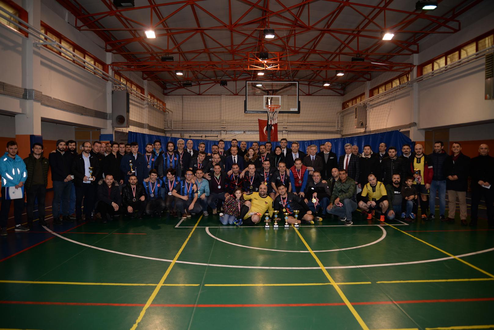 Personel Halı Saha Futbol Turnuvası Ödül Töreni