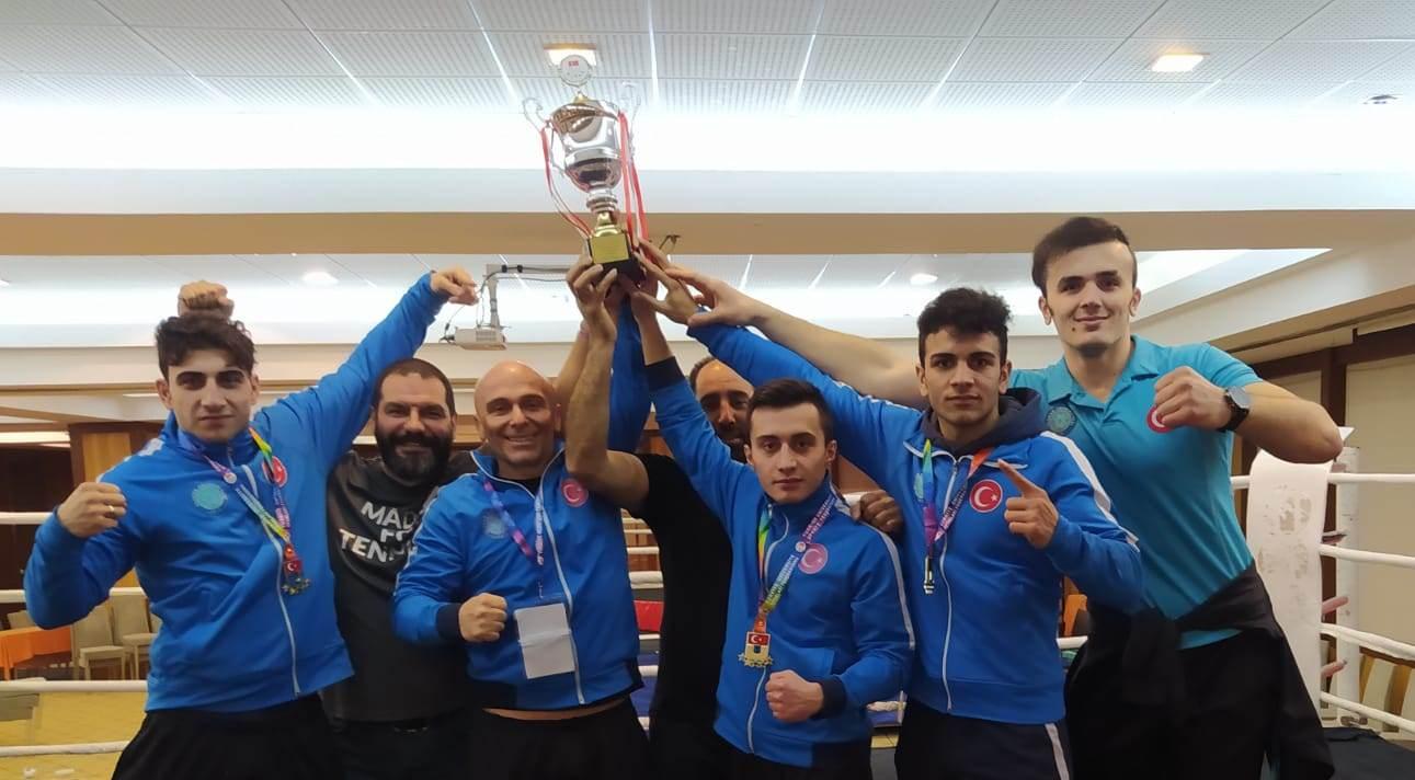 Üniversitelerarası Muay Thai Şampiyonası'na BUÜ damgası