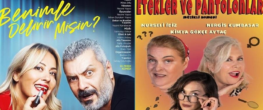 Güzel Sanatlar Fakültesi Sahne Sanatları Bölümü Dr. Öğretim Üyesi Mine Artu Mutlugün'ün yazdığı tiyatro oyunları İstanbul'da iki özel tiyatroda sahnelenmeye başladı