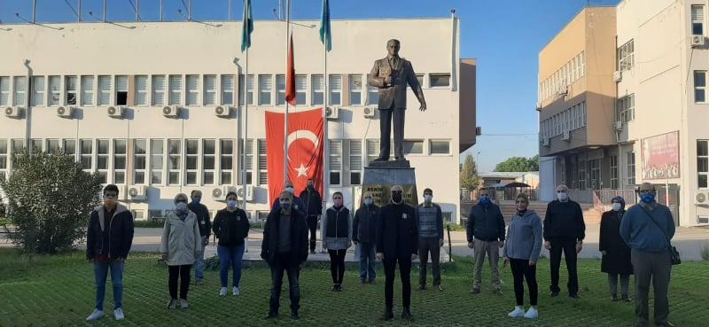Mustafa Kemal Atatürk Bursa Uludağ Üniversitesi'nde Anıldı