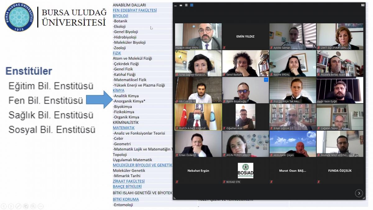İşletme Bölümü akademisyenlerine online 2244 bilgilendirme toplantısı