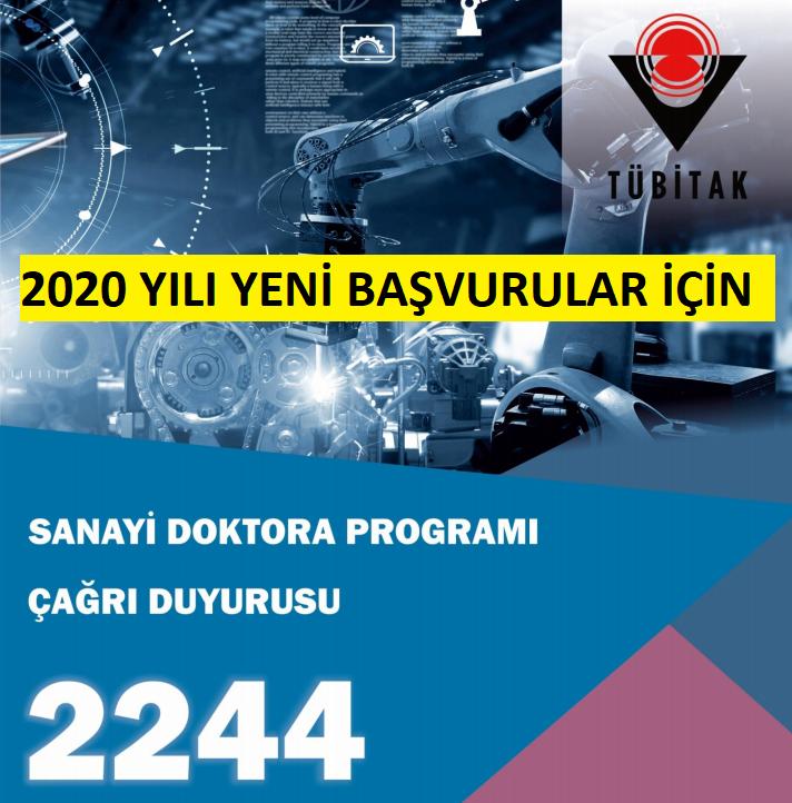 TÜBİTAK 2244 - Sanayi Doktora Programı 2020 Yılı Çağrısı  Protokol İmzaları Sürüyor
