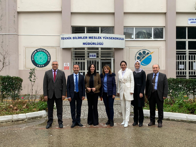 Üniversite-Sanayi İşbirliği toplantısı yapıldı