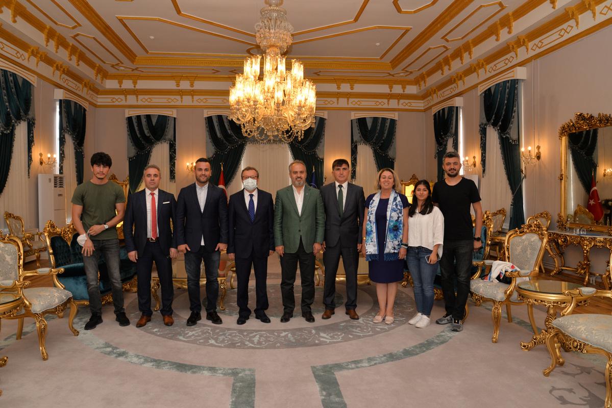 Büyükşehir Belediyesi ile 'Sporda İşbirliği' protokolü