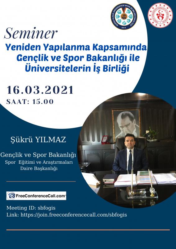 Gençlik ve Spor Bakanlığı ile  Üniversitelerin İş Birliği Semineri