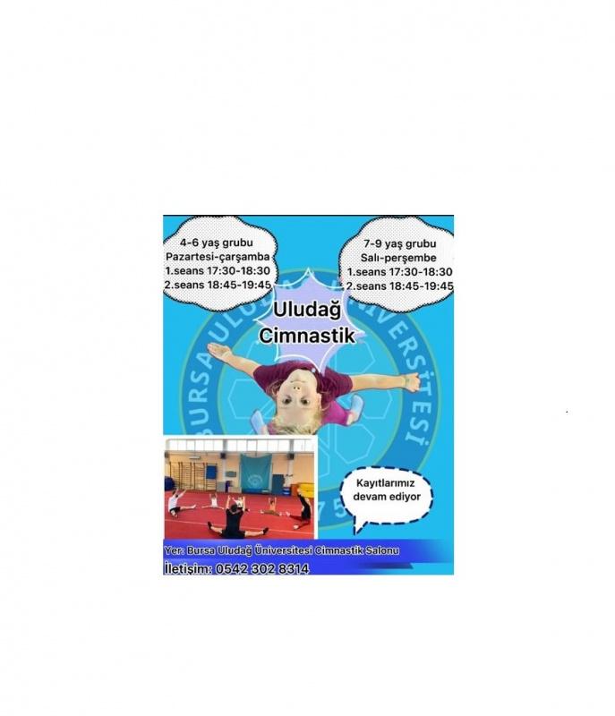Fakültemiz bünyesinde çocuklara yönelik cimnastik eğitimleri başlamıştır