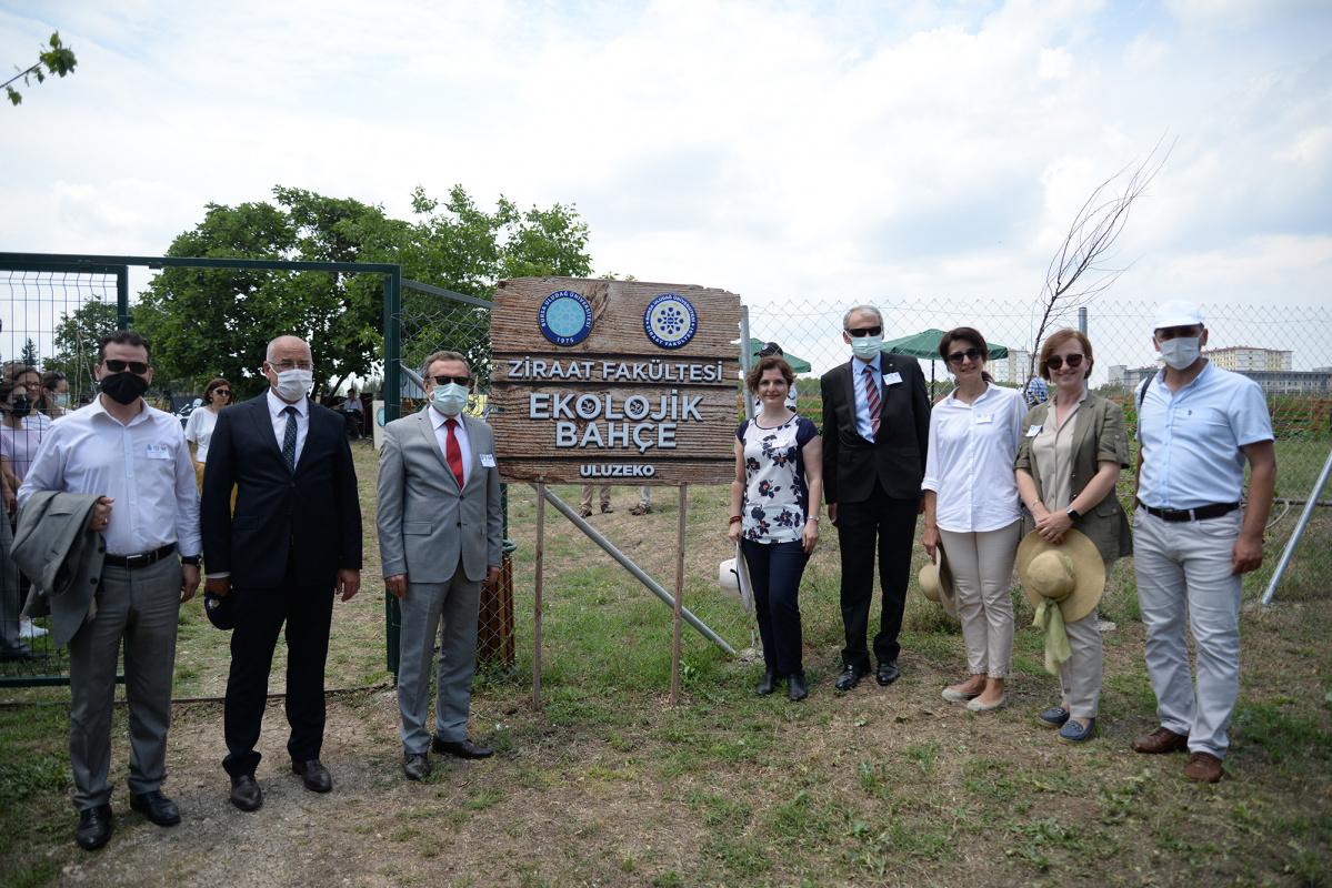 Bursa Uludağ Üniversitesi Ekolojik Bahçeler Projesi Açılışını Gerçekleştirdik