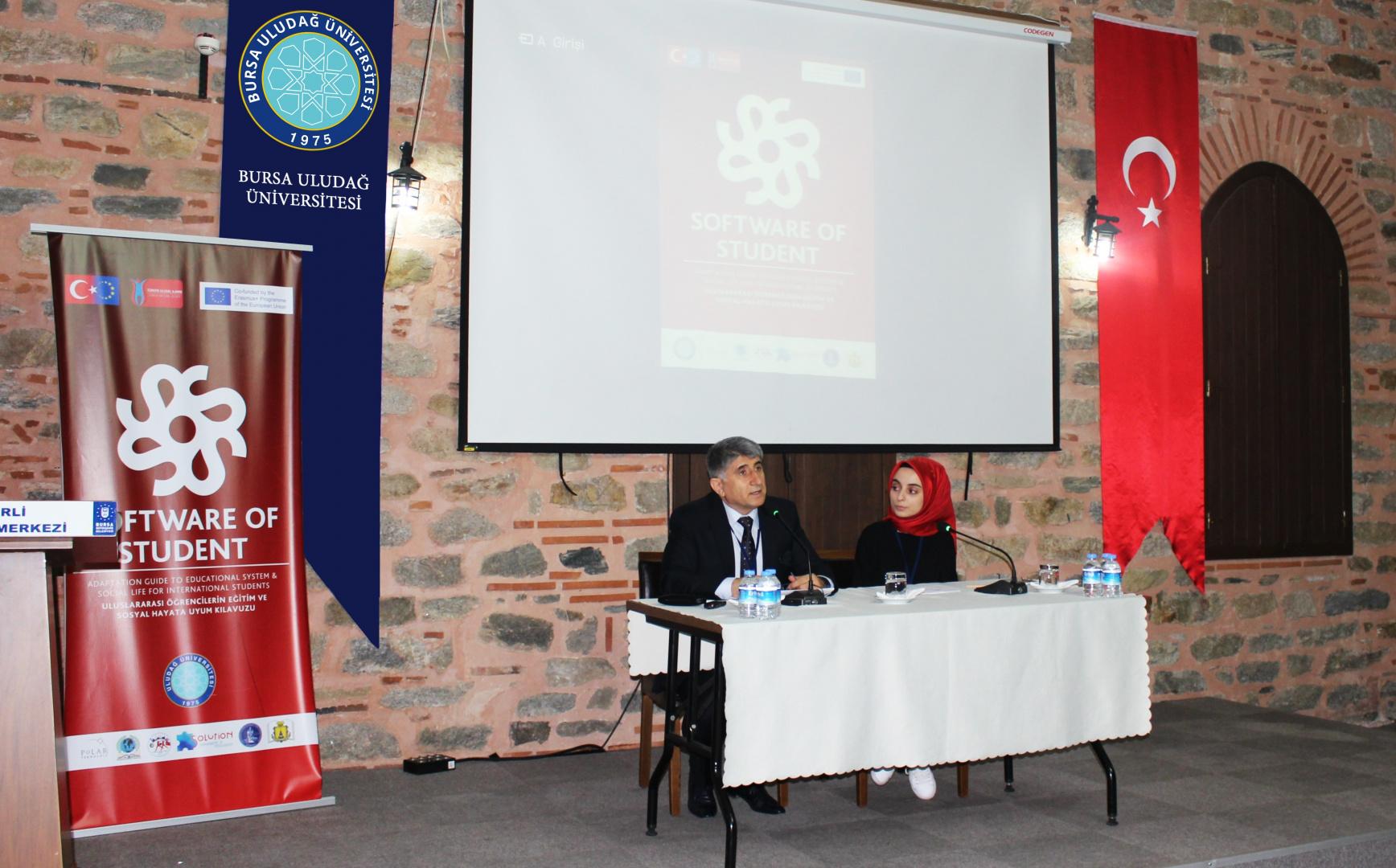 Uluslararası Öğrenciler İçin Eğitim Sistemine ve Sosyal Hayata Uyum Rehberi Projesinin İlk Toplantısı Yapıldı