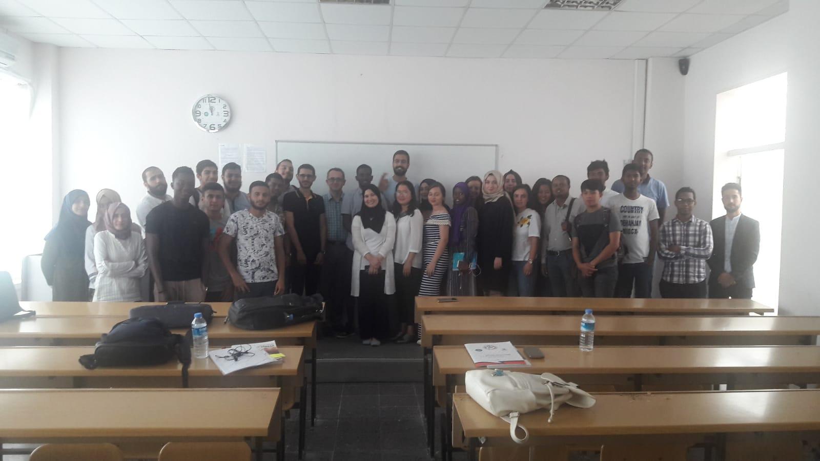 Akademik Türkçe Öğrencilerine İş Güvenliği Semineri Verildi