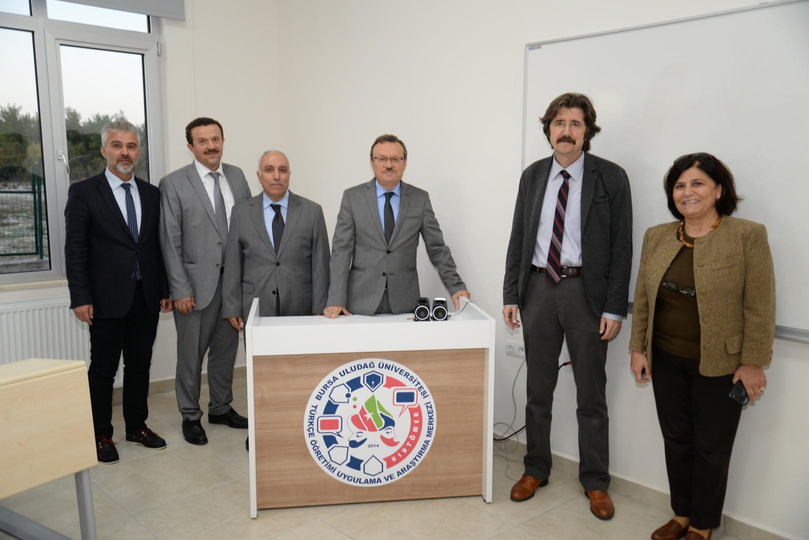 Rektörümüz Prof. Dr. Ahmet Saim KILAVUZ ULUTÖMER'i Ziyaret Etti