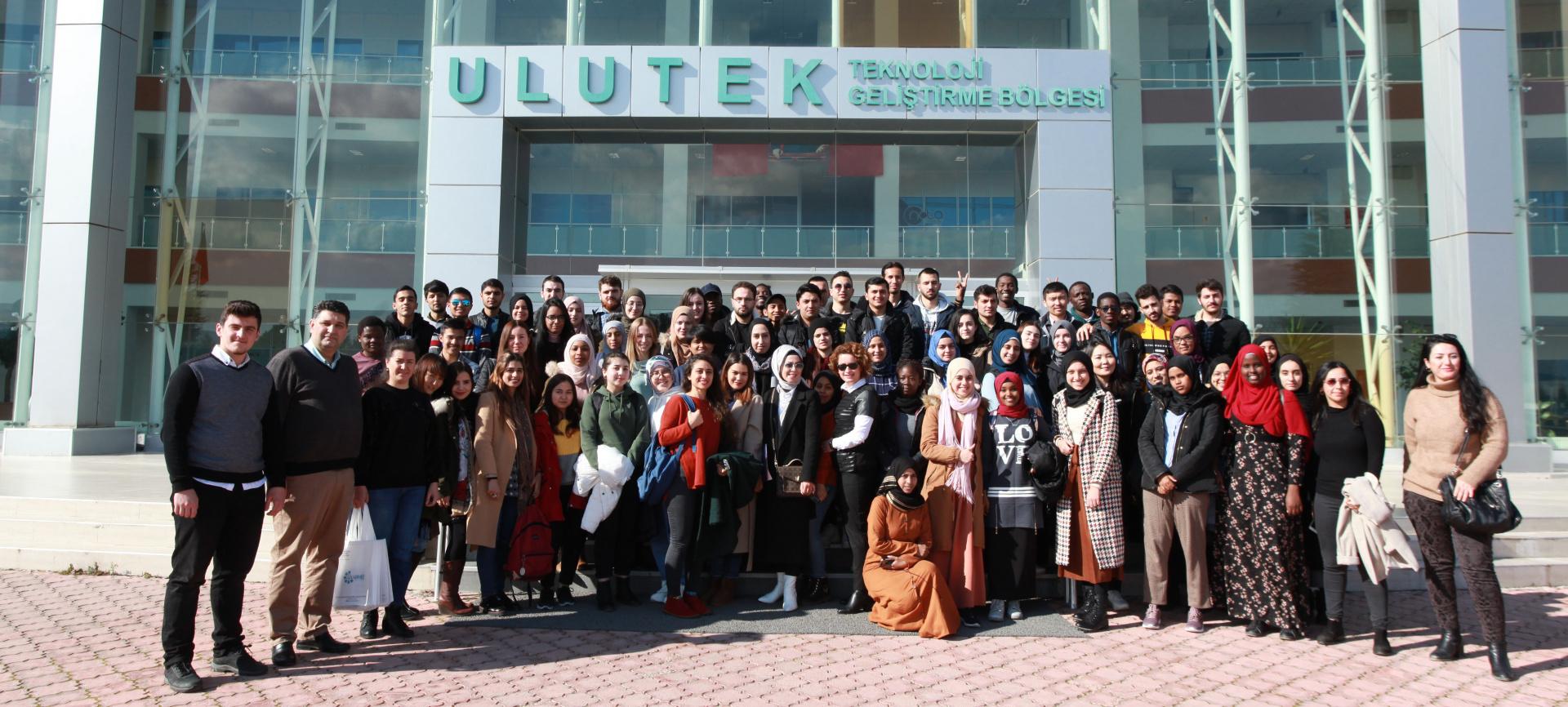 YTB ÖĞRENCİLERİ İLE ULUTEK/TEKNOPARK GEZİSİ
