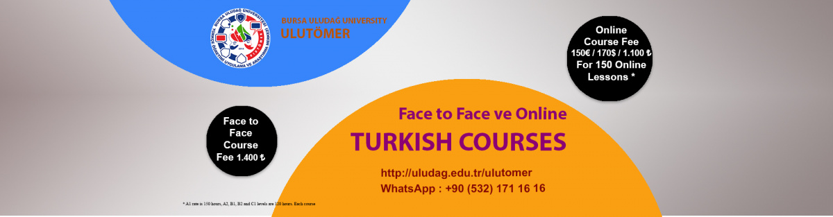 ULUTÖMER New Semester Turkish Courses Are Starting