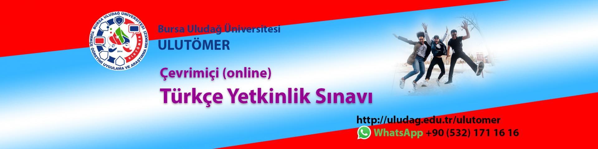 Çevrimiçi (Online) Türkçe Yetkinlik Sınavı