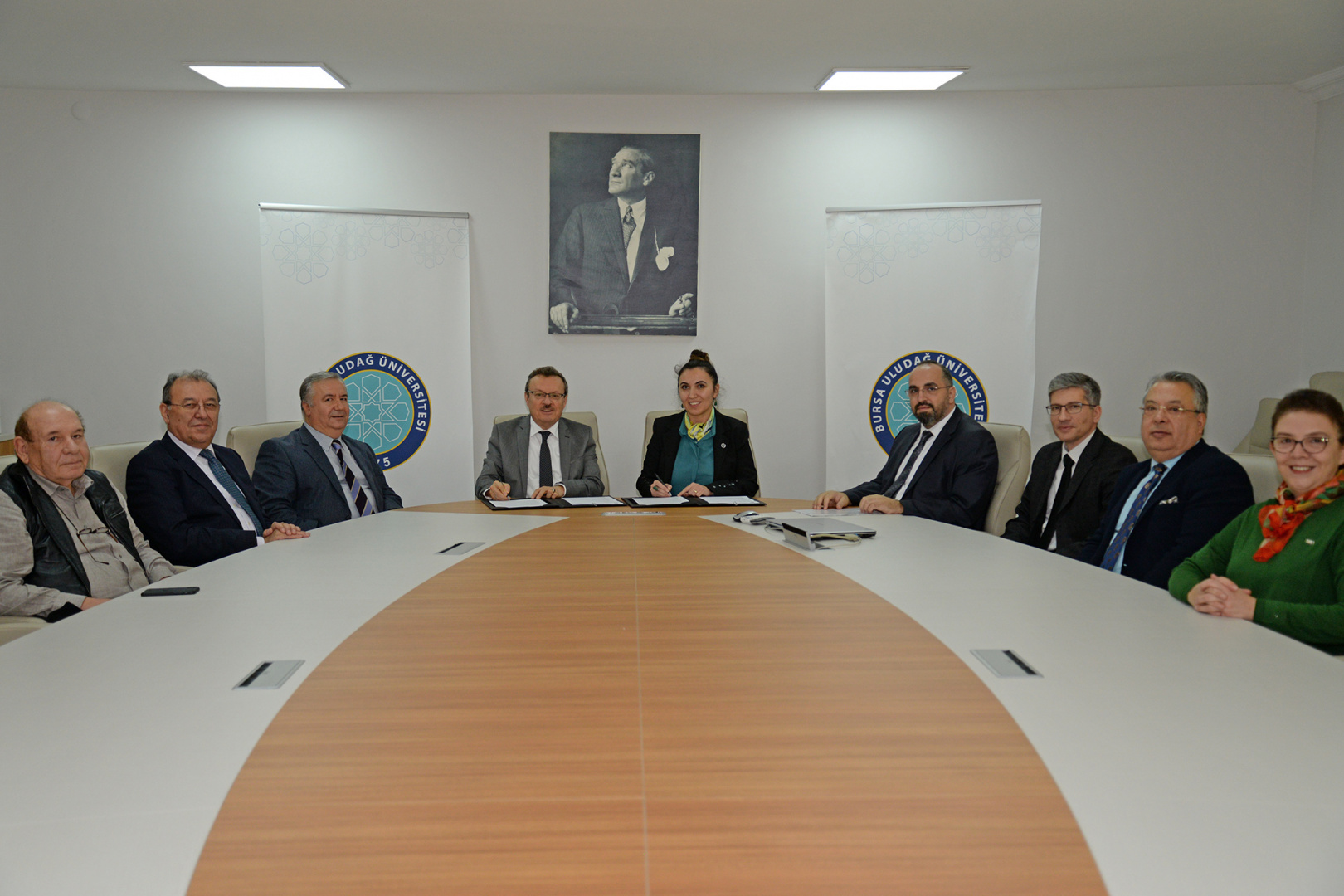 BUÜ ile Barmak Barutçuoğlu arasında 2244 Sanayi Doktora Protokolü imzalandı