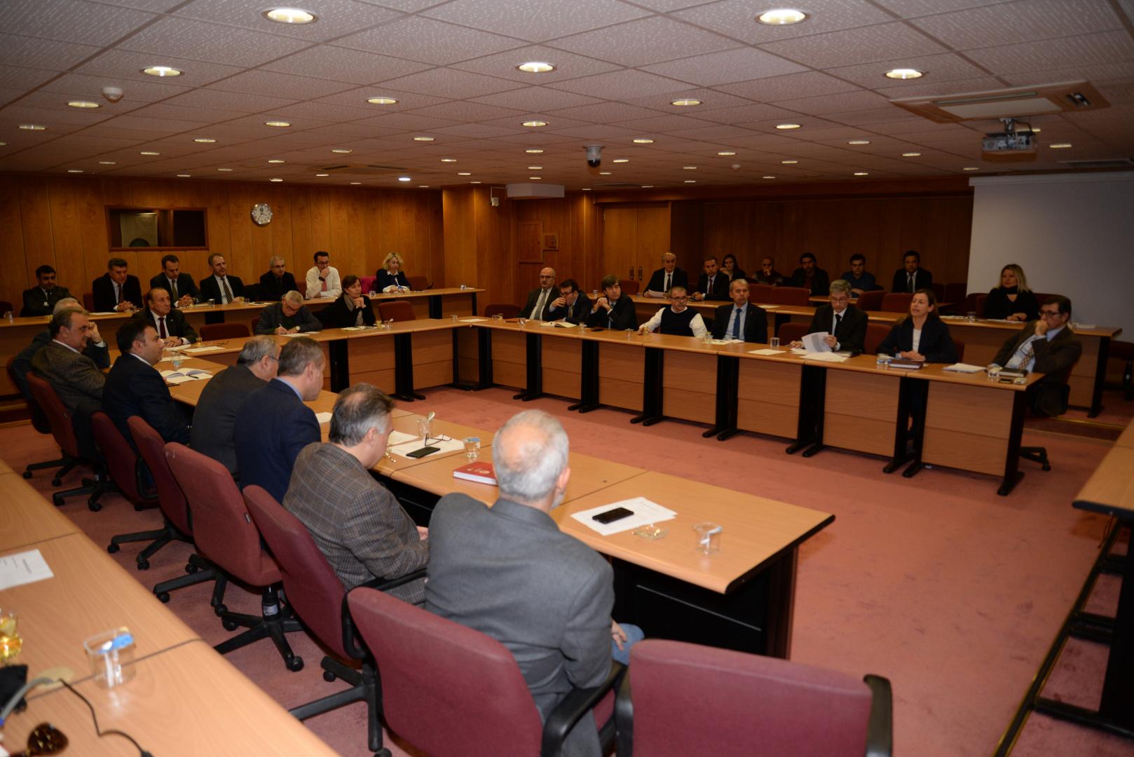 ÜSİGEM-KÜSİ Çalışma Konseyi tarafından BUÜ'de düzenlenen Çalıştay