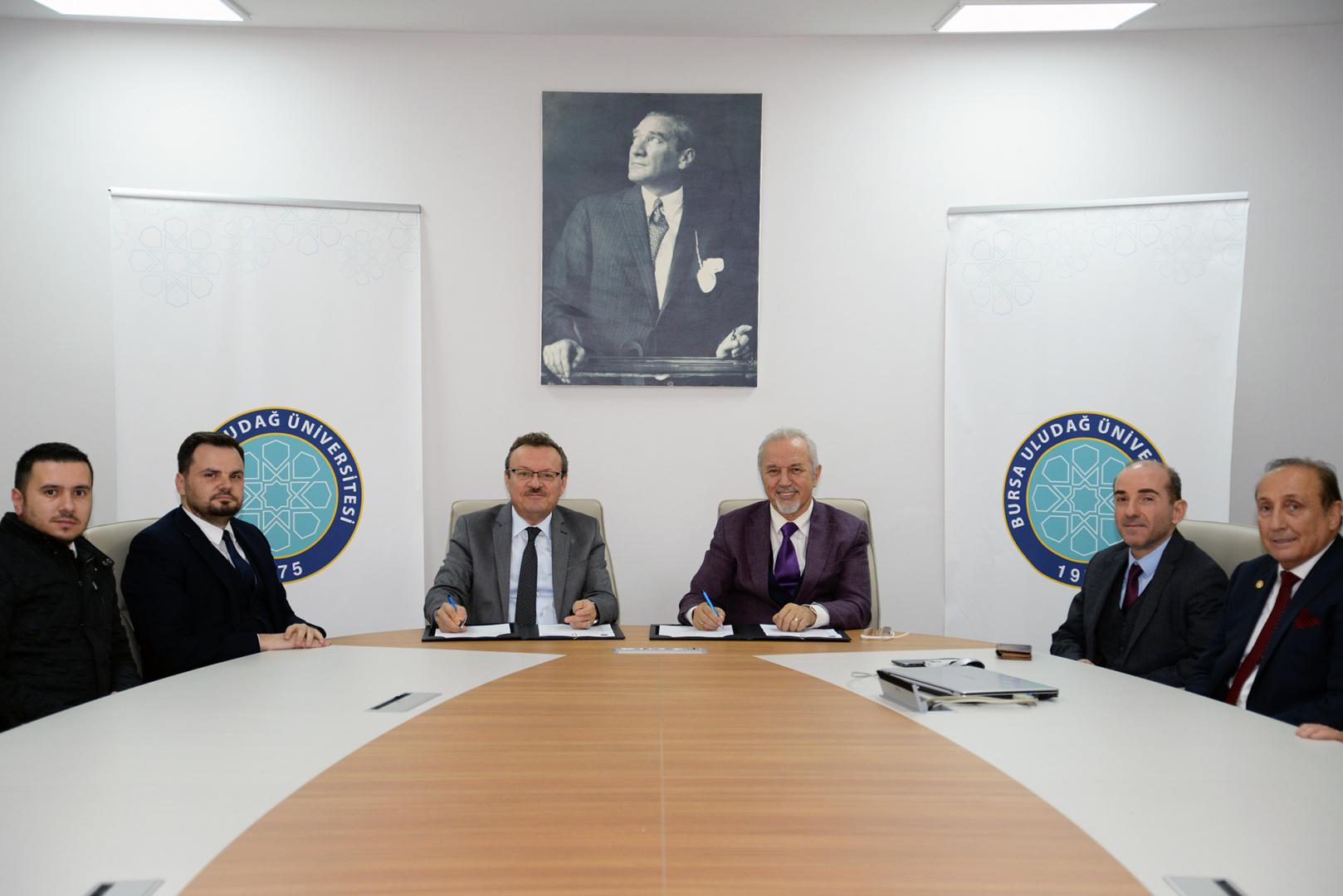 BUÜ ile İnoksan A.Ş. arasında 2244 Sanayi Doktora Protokolü imzalandı