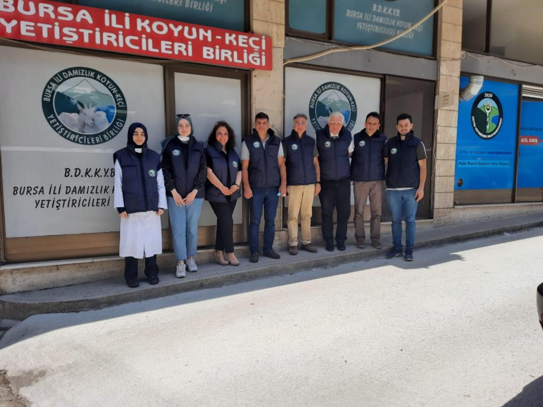 Damızlık Koyun Keçi Yetiştiricileri Birliği'ne Ziyaret