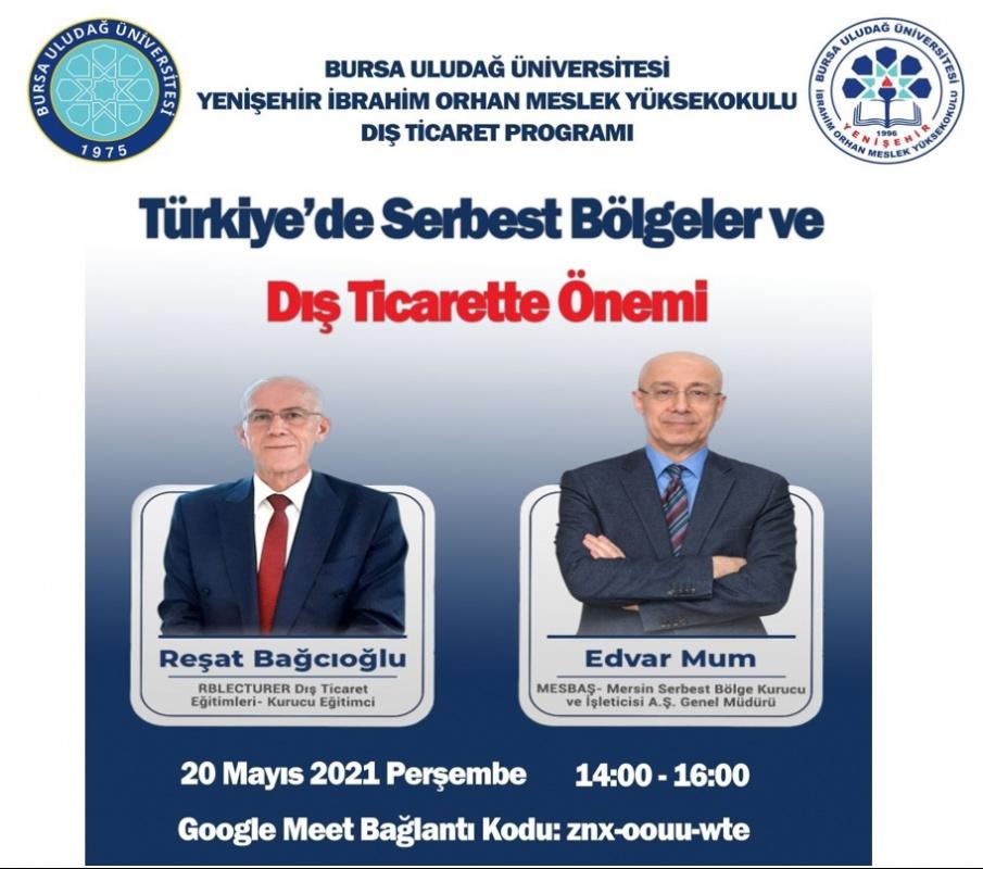 Türkiye'de Serbest Bölgeler ve Dış Ticarette Önemi Konulu Seminer